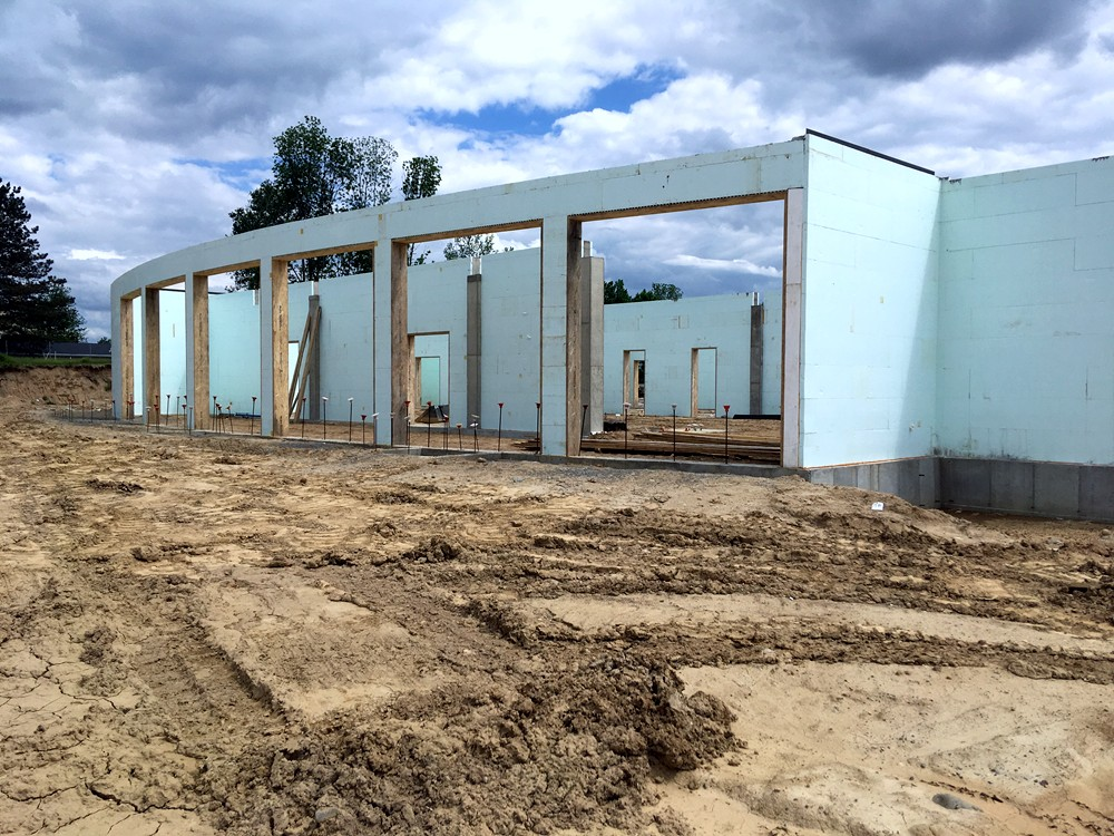 Commercial ICF Construction Company in Michigan - TurtleWall.com
