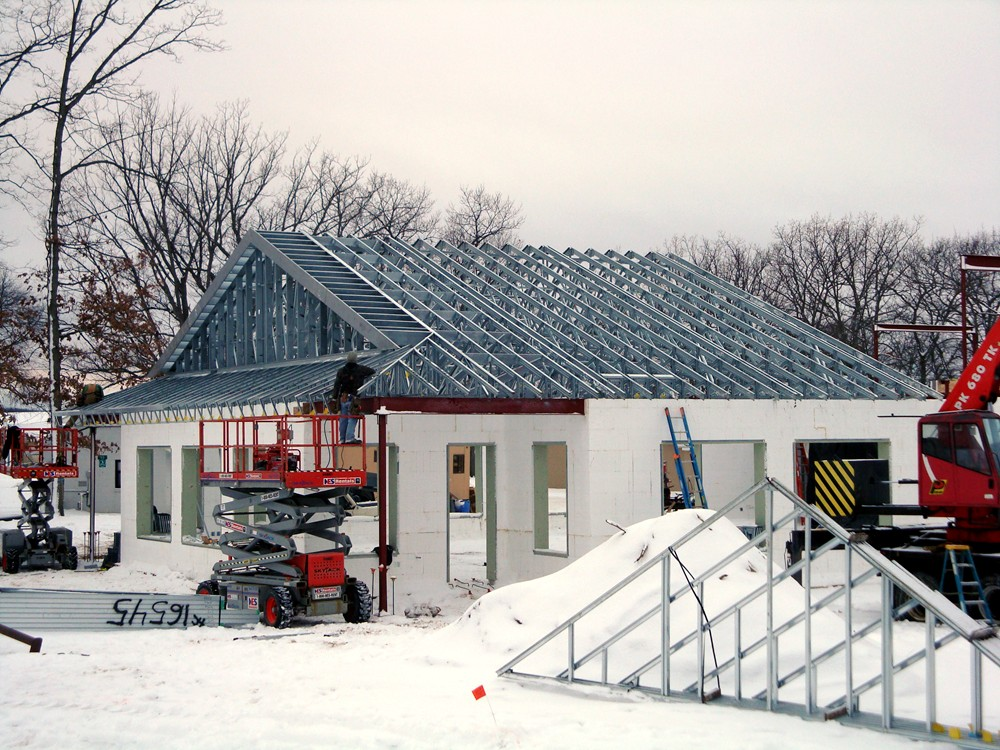 Commercial ICF Construction Company Michigan - TurtleWall.com