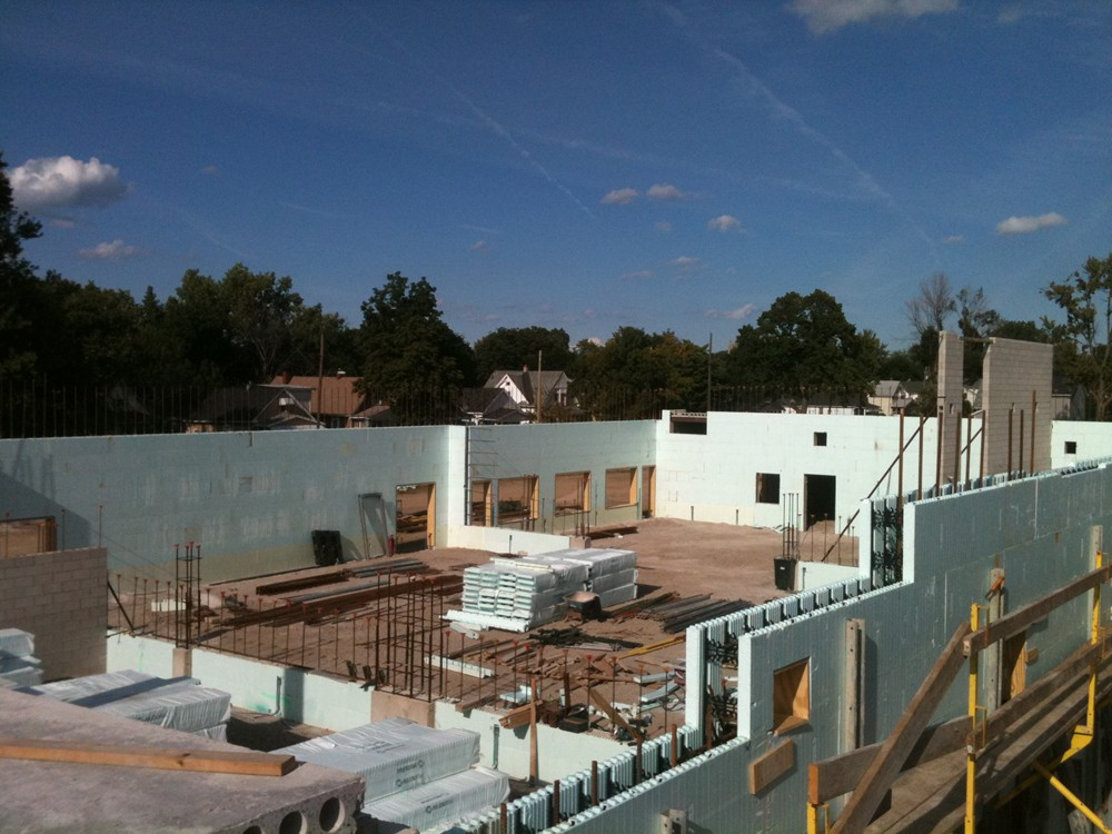 Commercial ICF Construction