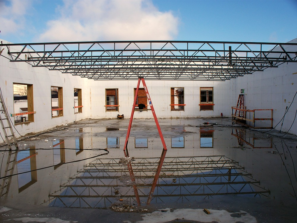 Commercial ICF Construction with Steel - TurtleWall.com