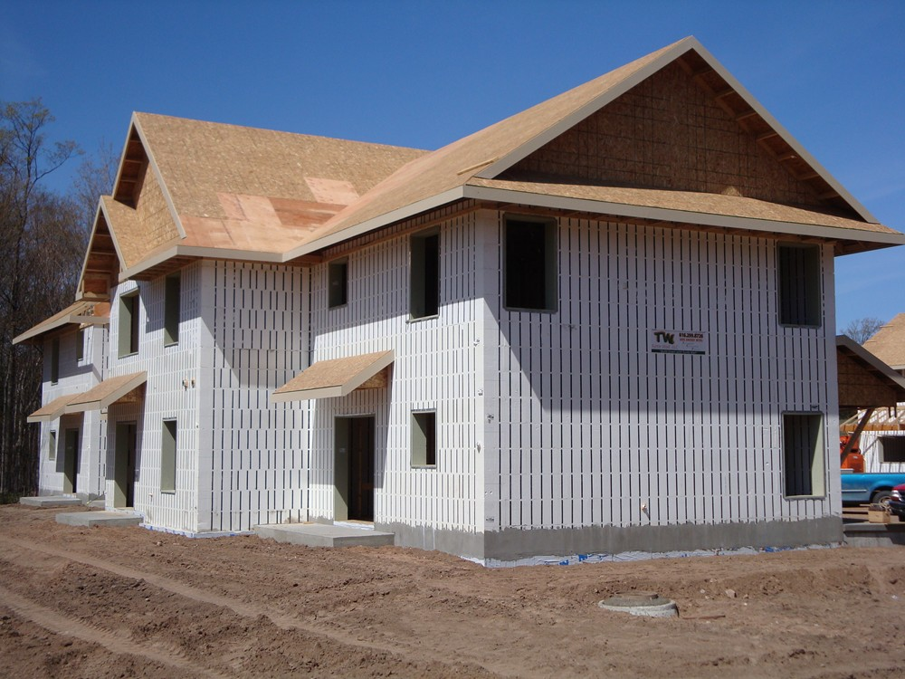 Custom ICF Homes built with Insulated Concrete Forms by Turtle Wall of Michigan - TurtleWall.com