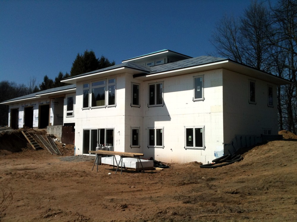 ICF Custom Home Construction in Grand Rapids Michigan - Turtle Wall