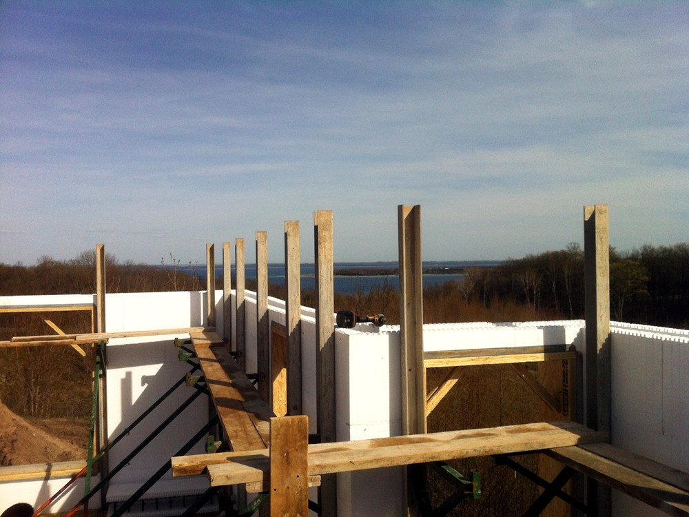 ICF Home Framing with Insulated Concrete Blocks by Turtle Wall of Michigan - TurtleWall.com