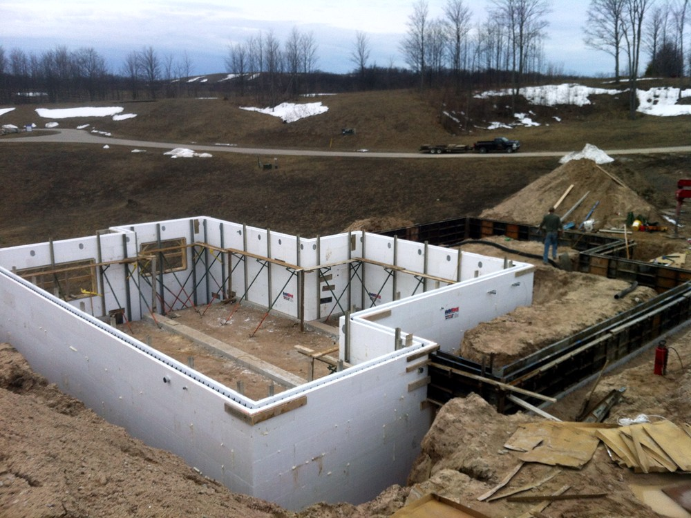 ICF Basements by Turtle Wall ICF Builders in Michigan - TurtleWall.com