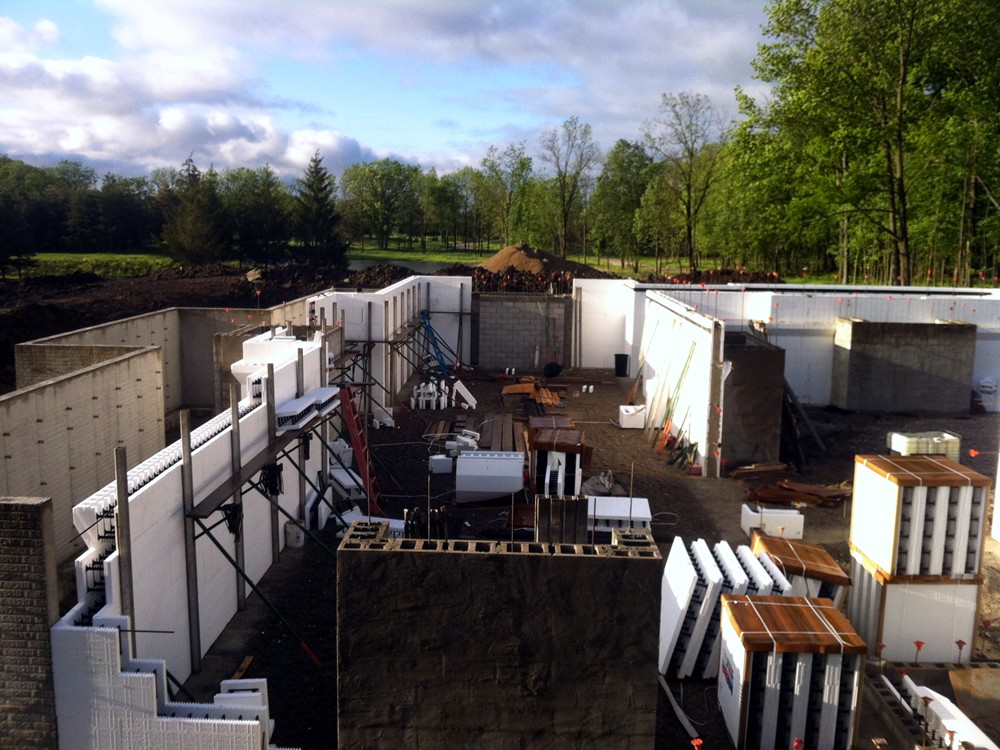 ICF Commercial and Industrial Buildings Constructed with Insulated Concrete Forms - Turtle Wall of Michigan