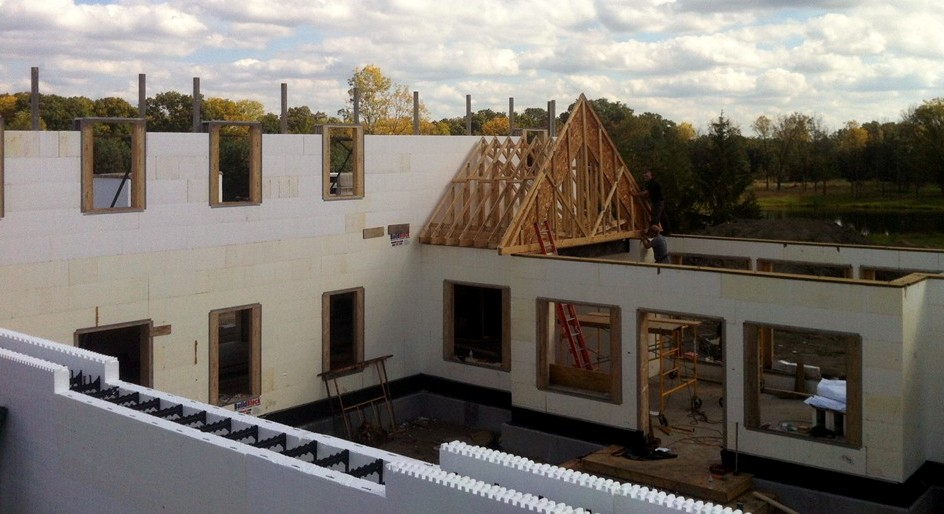 Planning ICF Construction in Michigan - Turtle Wall of Grand Rapids
