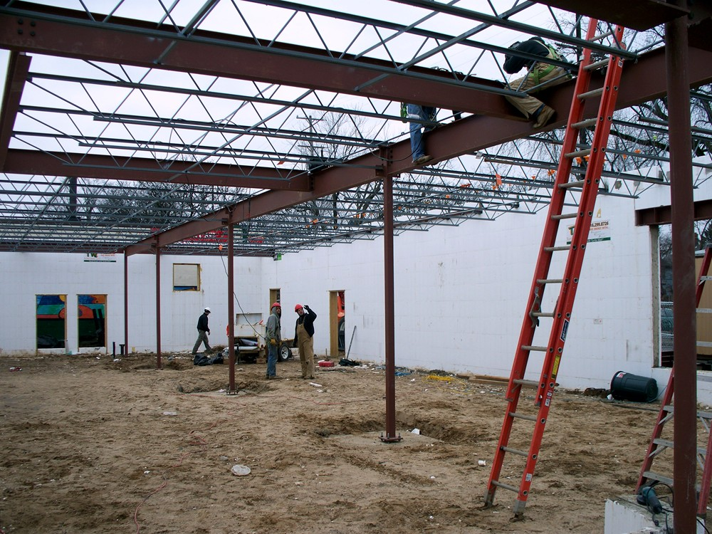 Industrial and Commercial Construction with Insulated Concrete Forms by Turtle Wall of Michigan