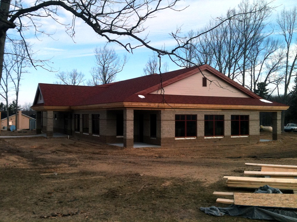 Medical Office Construction with ICF - Turtle Wall of Michigan